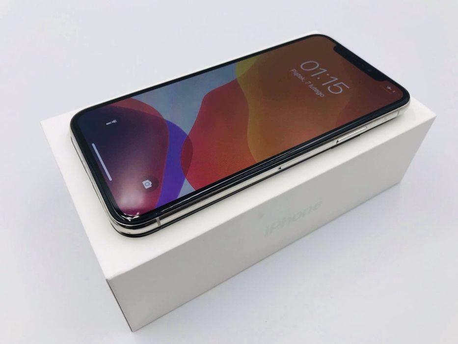 PROMOCJA • iPhone X 64GB Silver • GWARANCJA 1 MSC • AppleCentrum Wrocław - image 1