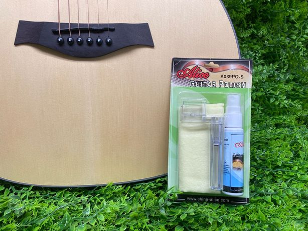 Набор Полироль-Очиститель для гитар и укулеле Alice A039 PO-S