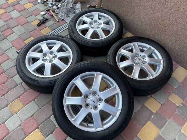 Тітанові діски RiaL 5*112 R16 Mercedes -Audi-Scoda-VW-Seat