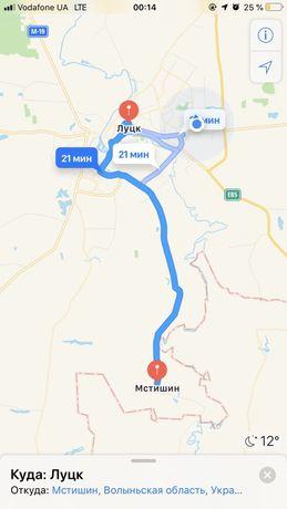 Продамо земельну ділянку під забудову с.Мстишин