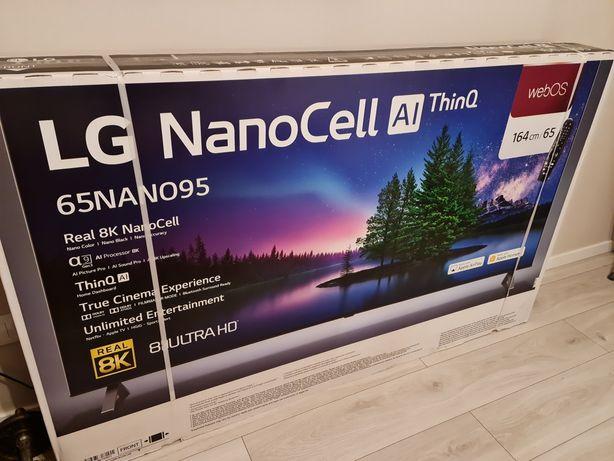 Telewizor 65 cali LG NanoCell953 Nowy Nieużywany 8K