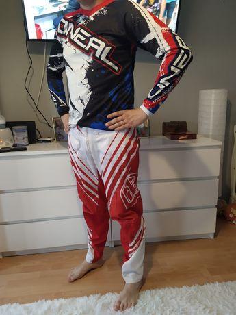 Strój na crossa Quada Koszulka / bluzka + Spodnie 170-180cm Rozmiar 36