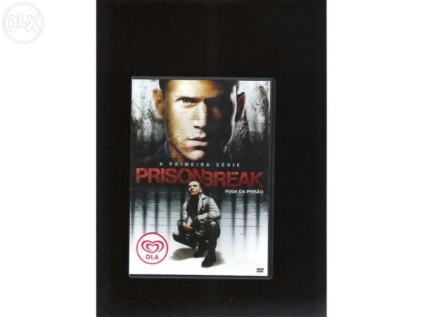Prison Break - Primeira Temporada, Ep. 1 e 2 (portes incluídos)