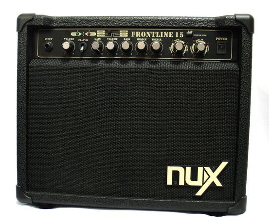 Гітарний комбопідсилювач Nux Frontline 15+ новий тюнер