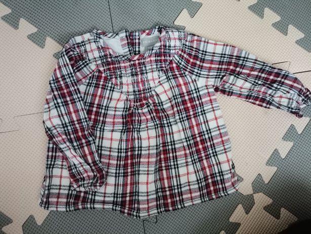 Koszula krata primark 86cm