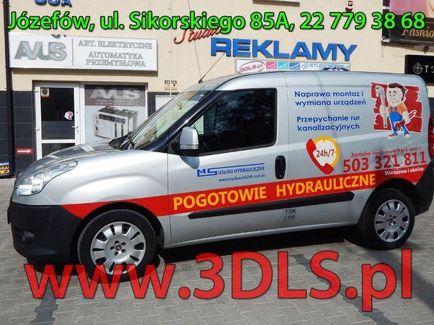 Oklejanie Samochodów Reklamą - Auto Reklama w 3DLS