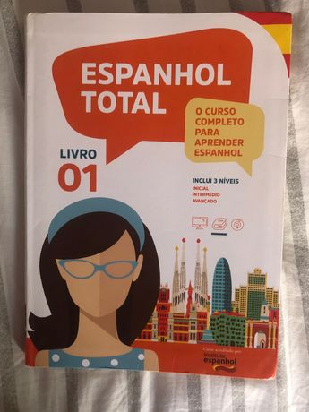 "Livro ""Espanhol Total"""