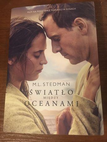 Książka światło między oceanami