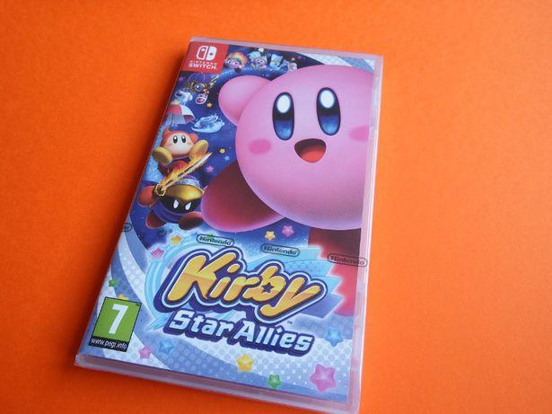 Nintendo SWITCH KIRBY nówka folia dla całej rodziny jak Mario SWITCH