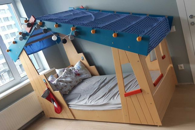 Детская кровать домик haba 200х90 см
