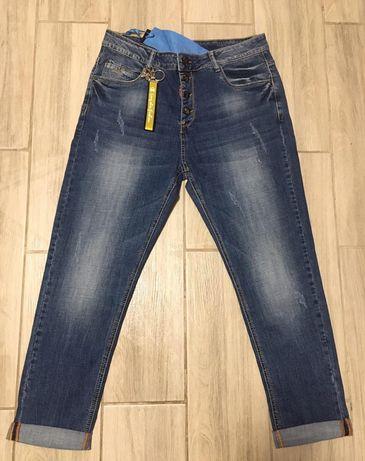 Размер 50;52;54;56;58;60)женские джинсы брюки бойфренды джегинсы
