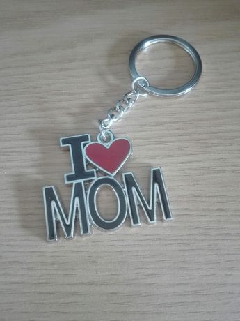 Porta-chaves I LOVE MOM