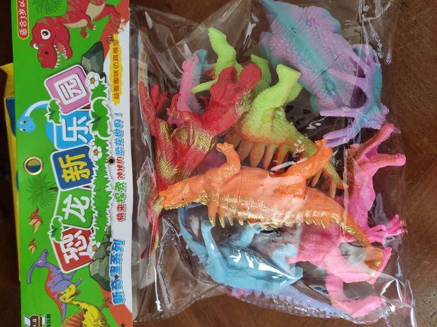 Conjunto 7 dinossauros
