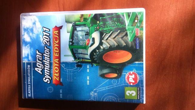 Gra Agrar Synulator 2011 złoto edycja