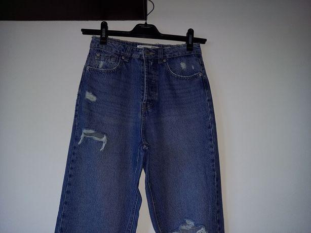 calças de ganga  novas
