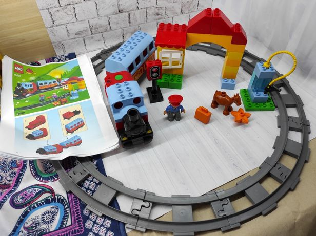 LEGO DUPLO 10507 Мой первый поезд, оригинал Поезд самоходный со звуком