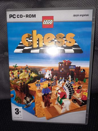 Gra PC CD-ROM Lego szachy-chess