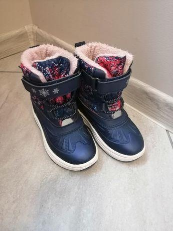 Buty buciki zimowe śniegowce r. 24
