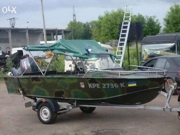Лодка Прогресс 4 (Yamaha, эхолот Lowrance Elite)