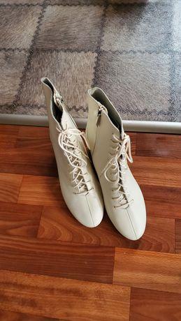 Zara ботинки, ботильоны