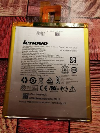 Bateria do Lenovo tab 2