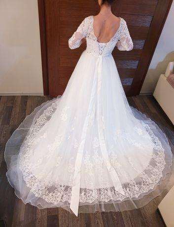 Suknia ślubna biała nowa