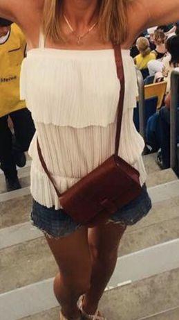 Топ блуза майка белая JoJo S 90 грн
