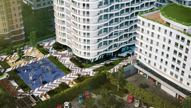 1 комнатная квартира 26.78 м² (890 $)