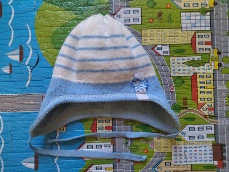 Осенняя шапочка для мальчика 44-46