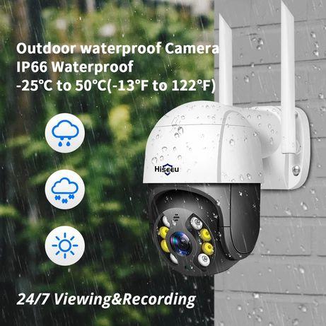 Câmera vigilância Rotativa  WiFi