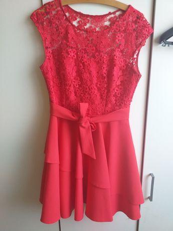 Czerowna sukienka r. 38