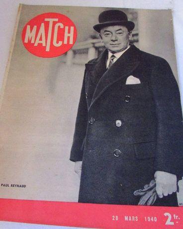 Revistas Match anos 40