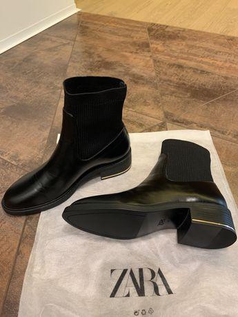 Zara ботинки женские