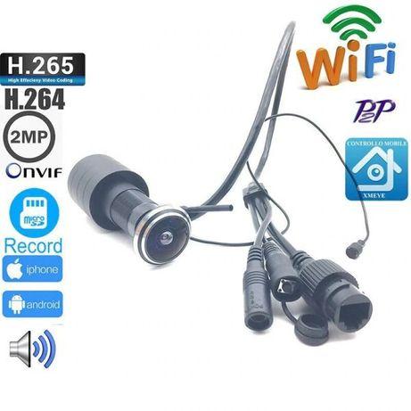 Видеоглазок wifi с датчиком движения и записью Digital HD D178, 2 МП