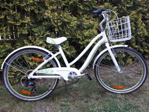 Rower miejski Giant Gloss biało-zielony