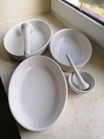 Stare naczynia żaroodporne