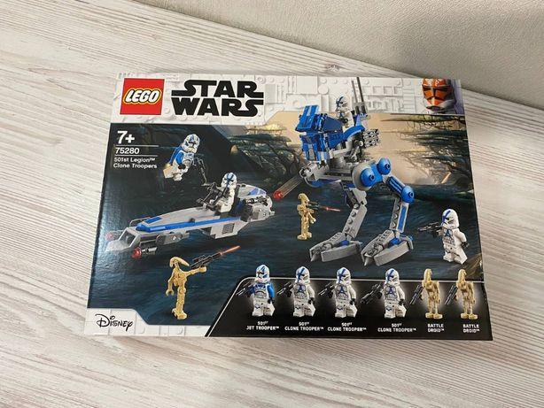 Lego Star Wars (75280) Клоны пехотинцы 501