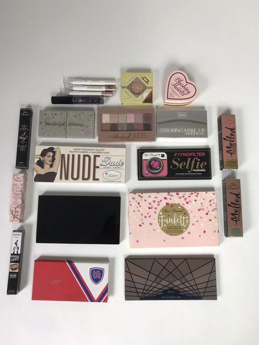 Paczka zestaw firmowych kosmetyków! OKAZJA! Too Faced, NYX, Zoeva Zegrze Południowe - image 1