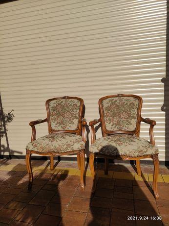 Stylowe fotele komplet