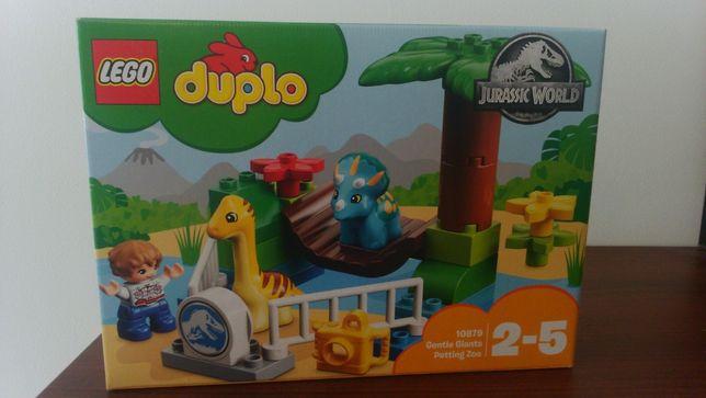 Nowe Klocki LEGO DUPLO Jurassic World Minizoo Łagodne olbrzymy 10879