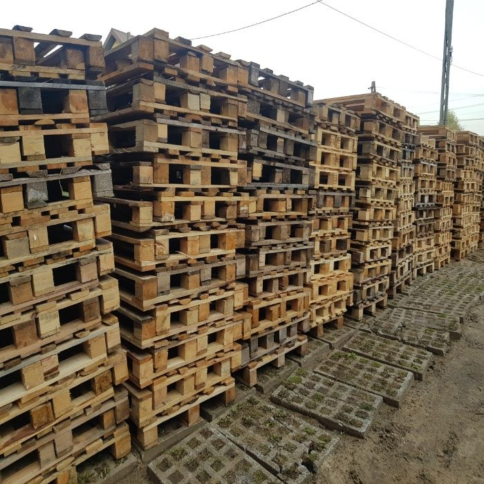 Palety przemysłowe 120x80 cm, jednorazowe, drewniane Mielec - image 1