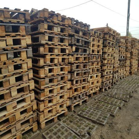 Palety przemysłowe 120x80 cm, jednorazowe, drewniane