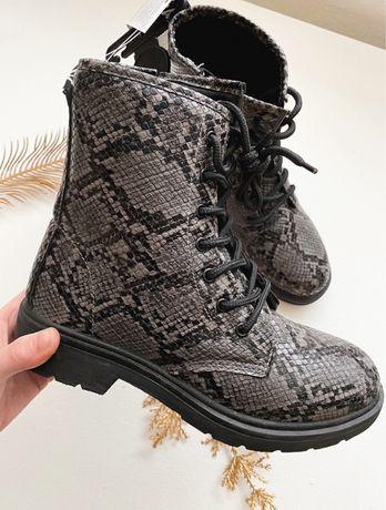 Осенние ботинки / демисезонные ботинки/ сапожки на низком ходу