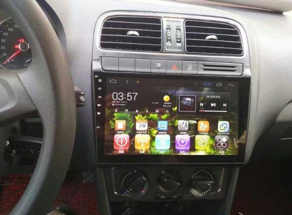 Штатная Магнитола VW Polo 2011-2018 с Android 8.1 с Экраном 9 дюймов