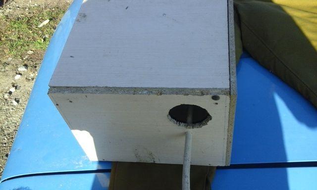 гнездовой домик для корелл