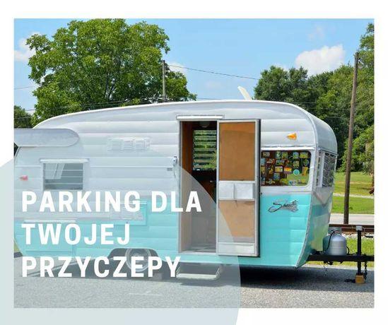 Parking dla przyczep kempingowych lub kamperów
