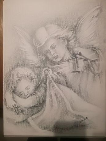 Aniołek a3 olowek