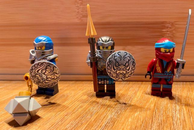 Figurki Lego Ninjago: Hero Nya, Hero Jay + Nya