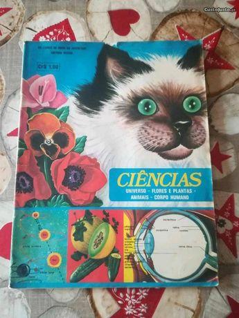 Caderneta - Ciências/Universo/Flores/Animais /Corpo Humano
