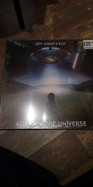Jeff Lynne's ELO Alone in the Universe winyl